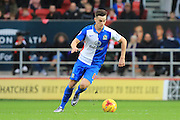 Blackburn Rovers forward Tom Lawrence during the Sky Bet Championship match between Bristol City and Blackburn Rovers at Ashton Gate, Bristol, England on 5 December 2015. Photo by Jemma Phillips.