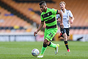 Forest Green Rovers Reuben Reid(26) runs forward during the EFL Sky Bet League 2 match between Port Vale and Forest Green Rovers at Vale Park, Burslem, England on 23 March 2019.