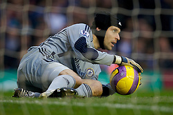 BIRMINGHAM, ENGLAND - Saturday, January 19, 2008: Chelsea's goalkeeper Petr Cech during the Premiership match against Birmingham City at St Andrews. (Photo by David Rawcliffe/Propaganda)