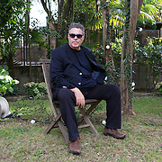 "Venice Lido, Italy, August 31, 2014. Amos Gitai,  Israeli director, screenwriter and architect Gitai is in Venice with his new film ""Tsili"" presented out of competition, and as a director of the episode ""The Book of Amos"" from the movie ""Words with Gods"" in which 9 renowned renowned filmmakers - Guillermo Arriaga, Hector Babenco, Álex De la Iglesia, Bahman Ghobadi, Amos Gitai, Emir Kusturica, Mira Nair, Worwick Thornton, Hideo Nakata -worked on the theme of spirituality ."