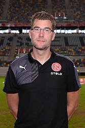 02.07.2015, Esprit Arena, Duesseldorf, GER, 2. FBL, Fortuna Duesseldorf, Fototermin, im Bild Mannschaftsbetreuer Oliver Passhaus ( Fortuna Duesseldorf / Portrait ) // during the official Team and Portrait Photoshoot of German 2nd Bundesliga Club Fortuna Duesseldorf at the Esprit Arena in Duesseldorf, Germany on 2015/07/02. EXPA Pictures © 2015, PhotoCredit: EXPA/ Eibner-Pressefoto/ Thienel<br /> <br /> *****ATTENTION - OUT of GER*****