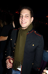 LORD FREDERICK WINDSOR at a party hosted by Tatler magazine to celebrate the publication of the 2004 Little Black Book held at Tramp, 38 Jermyn Street, London SW1 on 10th November 2004.<br />