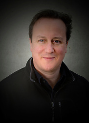 Portrait of The Prime Minister David Cameron taken at Camp Bastion while on a visit the British troops in Afghanistan. Monday, 16th December 2013. Picture by Andrew Parsons / i-Images