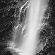 Fossa waterfall detail, Faroe Islands