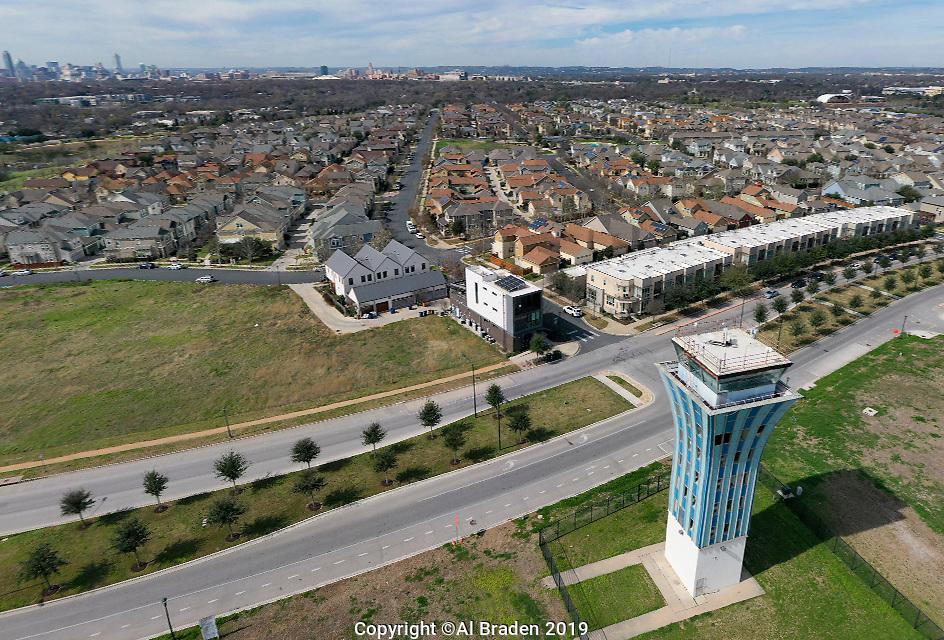 Control Tower, Muller Neighborhood, Austin, TX