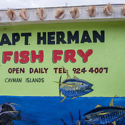 Captain Herman Fish Fry. Grand Cayman Island. East End.