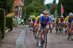 Peloton with Megan Guarnier of Boels Dolmans Cycling Team during the Holland Ladies Tour at the mountain sprint, Zeddam, Gelderland, The Netherlands, 1 September 2015.<br /> Photo: Pim Nijland / PelotonPhotos.com