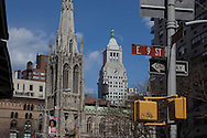 New York Grace church on eleven street and Broadway