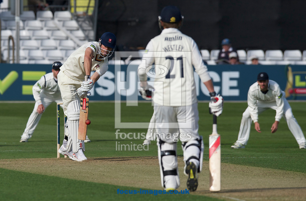 Picture by Alan Stanford/Focus Images Ltd +44 7915 056117.29/04/2013.Alastair Cook of Essex County Cricket Club during the LV County Championship Div Two match at the County Ground, Chelmsford, Chelmsford..