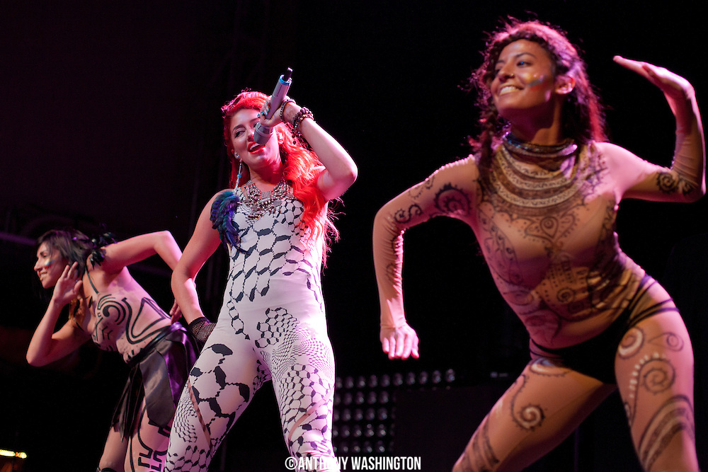 Neon Hitch performs at Rams Head Live on Tuesday, August 14, 2012 in Baltimore, MD.