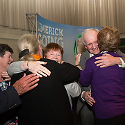 10.10. 2017.          <br /> There were jubilant celebrations in The Strand Hotel, Limerick this evening (Tuesday 10 October 2017) as Adare claimed the top prize in Limerick Going for Gold 2017.<br /> <br /> Limerick Going for Gold, which is sponsored by the JP McManus Charitable Foundation, has a total prize pool of over €75,000.  It is organised by Limerick City and County Council and supported by Limerick's Live 95FM, The Limerick Leader and The Limerick Chronicle, The Limerick Post, Parkway Shopping Centre, I Love Limerick and Southern Marketing Media & Design. Picture: Alan Place