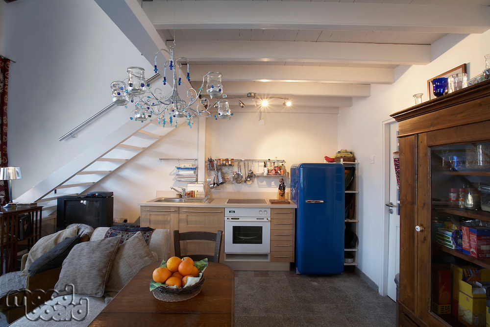 Cyprus ground floor of studio apartment converted from antique store