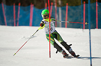 Francis Piche Invitational slalom 1st run J4 at Gunstock March 18, 2012.