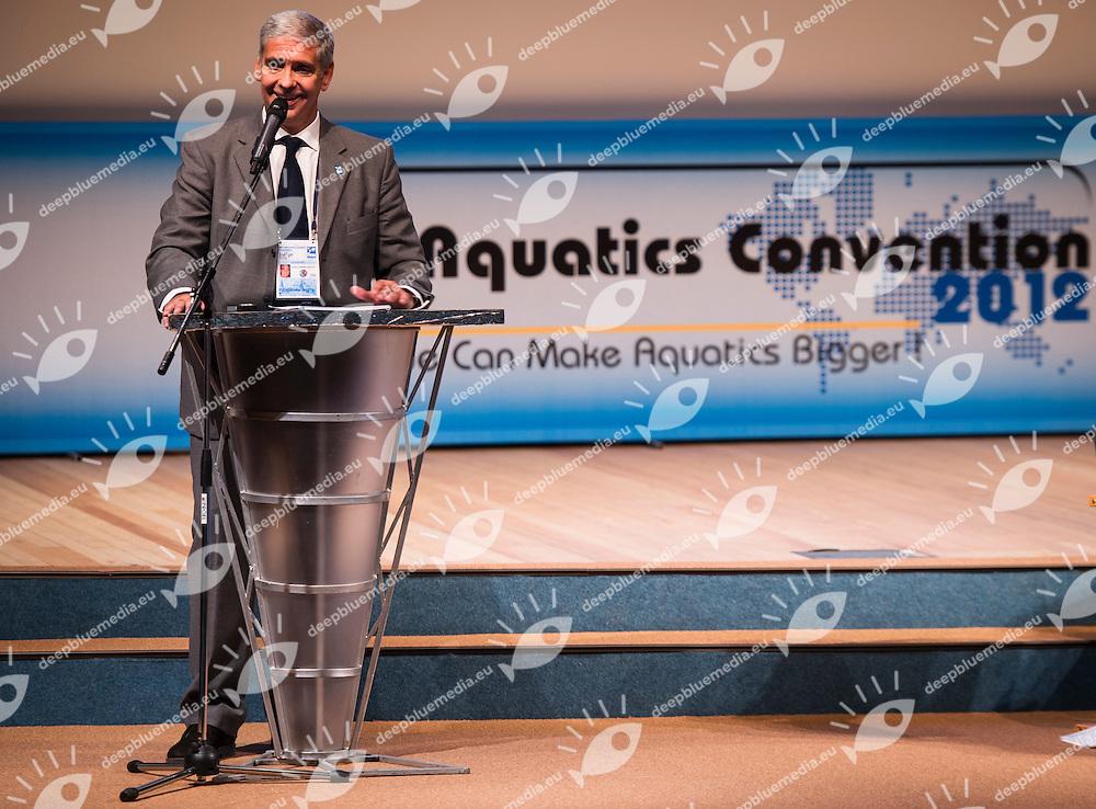 II FINA World Aquatics Convention<br /> Andrea Prayer<br /> Moscow Russia oct. 30th, Nov. 1st, 2012<br /> Opening Oct. 31th<br /> Photo G.Scala/Deepbluemedia/Insidephoto