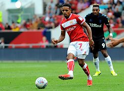 Korey Smith of Bristol City in action - Mandatory by-line: Nizaam Jones/JMP- 18/08/2018 - FOOTBALL - Ashton Gate Stadium - Bristol, England - Bristol City v Middlesbrough - Sky Bet Championship