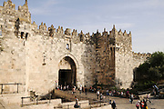 Israel, old city of Jerusalem, The Damascus Gate