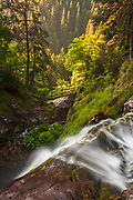 Waterfall Canyon in Rhodope Mountains