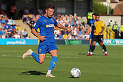 AFC Wimbledon defender Luke O'Neill (2) passing the ball during the EFL Sky Bet League 1 match between AFC Wimbledon and Bristol Rovers at the Cherry Red Records Stadium, Kingston, England on 21 September 2019.