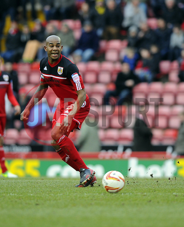 Bristol City's Marvin Elliott - Photo mandatory by-line: Joe Meredith/JMP - Tel: Mobile: 07966 386802 23/02/2013 - SPORT - FOOTBALL - Ashton Gate - Bristol -  Bristol City V Barnsley - Npower Championship