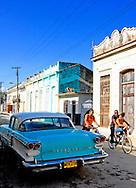 Old Pontiac in Cardenas, Matanzas, Cuba.