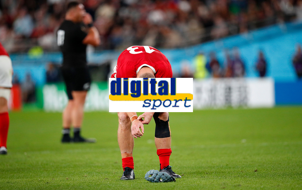 Rugby Union - 2019 Rugby World Cup - Bronze Final (Third Place Play-Off): Wales vs. France<br /> <br /> Jonathan Davies of Wales at Tokyo Stadium, Tokyo.<br /> <br /> COLORSPORT/LYNNE CAMERON