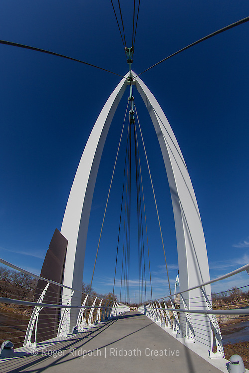 Foot Bridge Keeper of the Plains Wichita Kansas