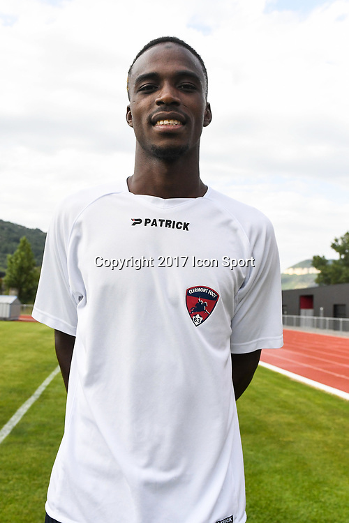 Michel Espinosa of Clermont during the friendly match between Montpellier Herault and Clermont foot on July 19, 2017 in Millau, France. (Photo by Philippe Le Brech/Icon Sport)