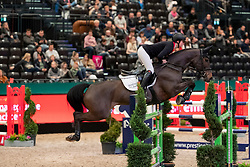 BRINKOP Kendra Claricia (GER), Caramia<br /> Leipzig - Partner Pferd 2019<br /> Eröffnungsspringen<br /> 17. Januar 2019<br /> © www.sportfotos-lafrentz.de/Stefan Lafrentz