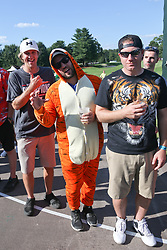 September 21, 2018 - Atlanta, Georgia, United States - Tiger Woods' fans line the 16th hole during the second round of the 2018 TOUR Championship. (Credit Image: © Debby Wong/ZUMA Wire)