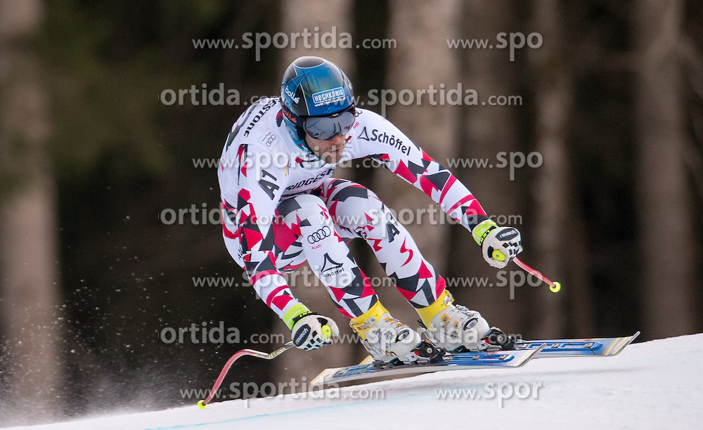 30.01.2016, Kandahar, Garmisch Partenkirchen, GER, FIS Weltcup Ski Alpin, Abfahrt, Herren, im Bild Patrick Schweiger (AUT) // Patrick Schweiger of Austria competes in his run for the men's Downhill of Garmisch FIS Ski Alpine World Cup at the Kandahar course in Garmisch Partenkirchen, Germany on 2016/01/30. EXPA Pictures © 2016, PhotoCredit: EXPA/ Johann Groder