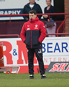 Rangers' caretaker manager Graeme Murty - Dundee v Rangers in the Ladbrokes Scottish Premiership at Dens Park, Dundee.Photo: David Young<br /> <br />  - © David Young - www.davidyoungphoto.co.uk - email: davidyoungphoto@gmail.com