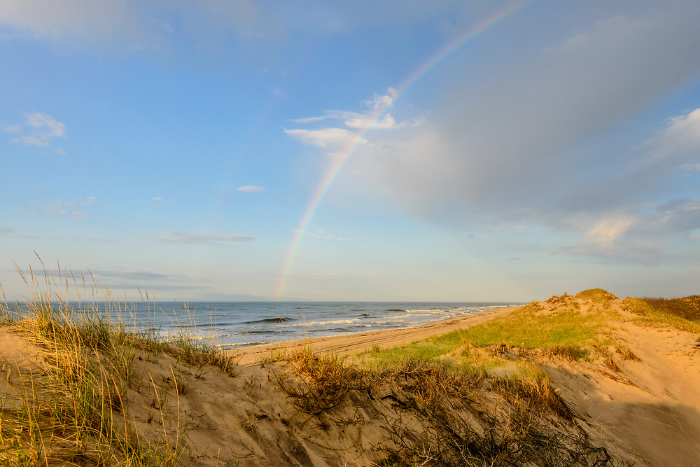 Rainbow, Hither Hills State Park, Montauk, NY