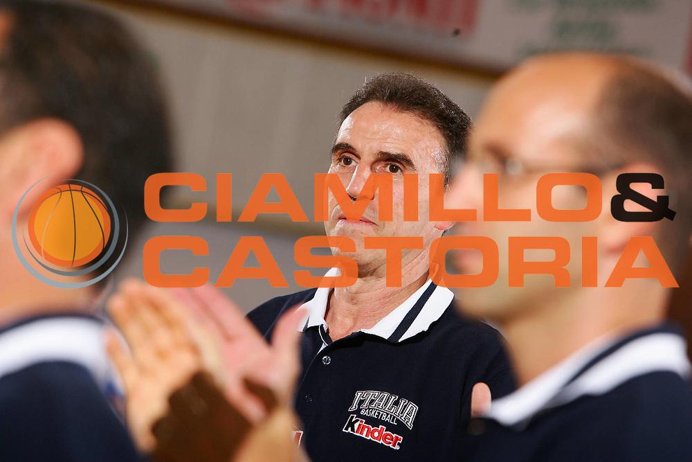 DESCRIZIONE : Bormio Trofeo Internazionale Diego Gianatti Italia Serbia <br /> GIOCATORE : Recalcati <br /> SQUADRA : Italia <br /> EVENTO : Bormio Trofeo Internazionale Diego Gianatti Italia Serbia <br /> GARA : Italia Serbia <br /> DATA : 22/07/2006 <br /> CATEGORIA : Ritratto <br /> SPORT : Pallacanestro <br /> AUTORE : Agenzia Ciamillo-Castoria/S.Silvestri