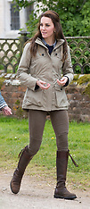Duchess of Cambridge on the Farm 3rd May 2017