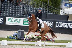 Vasaryova Hana, CZE, Silky Moves<br /> Longines FEI/WBFSH World Breeding Dressage Championships for Young Horses - Ermelo 2017<br /> © Hippo Foto - Dirk Caremans<br /> 03/08/2017