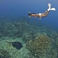 Guam's Marine Preserves, Hidden Treasures<br /> Book by Tim Rock