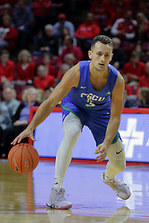 NORMAL, IL - November 06:  Christian Carlyle during a college basketball game between the ISU Redbirds  and the Florida Gulf Coast Eagles on November 06 2018 at Redbird Arena in Normal, IL. (Photo by Alan Look)