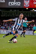 Siem De Jong during the Pre-Season Friendly match between York City and Newcastle United at Bootham Crescent, York, England on 29 July 2015. Photo by Simon Davies.