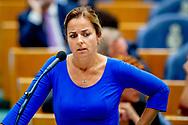 DEN HAAG -Tweede kamerlid Marianne Thieme  partij voor de dieren  in de Tweede Kamer voor het wekelijkse vragenuurtje.