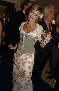Maya von Schonburg. Grosvenor House Antiques Fair charity Gala preview. 13 June 2002. © Copyright Photograph by Dafydd Jones 66 Stockwell Park Rd. London SW9 0DA Tel 020 7733 0108 www.dafjones.com