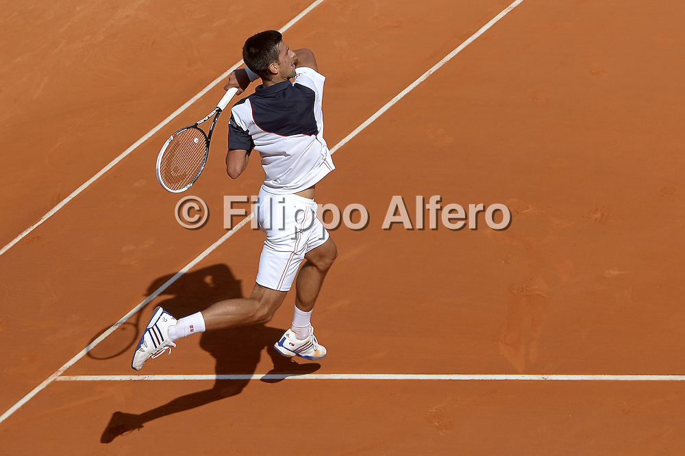 &copy; Filippo Alfero<br /> Monte-Carlo Tennis Masters 2014<br /> Monaco, 17/04/2014<br /> sport tennis<br /> Nella foto: Novak Djokovic