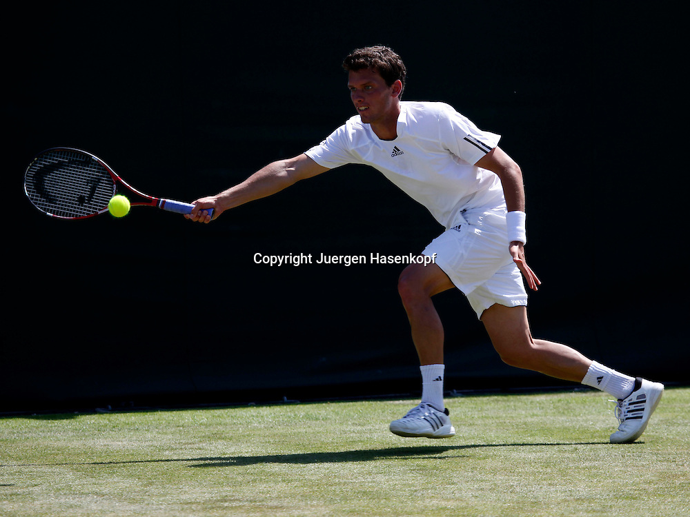 Wimbledon 2010,Sport, Tennis, ITF Grand Slam Tournament, Tobias Kamke (GER)..Foto: Juergen Hasenkopf..