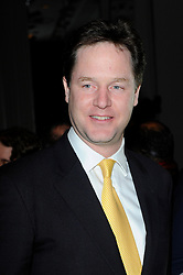 Nick Clegg during the TiE UK Awards 2013 at The Grosvenor House Hotel, London, England, UK, March 18, 2013.  Photo by Chris Joseph / i-Images...