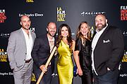 Producer / Editor Alexander Emanuele, Director Gabriel Taraboulsy, Janet Zuccarini, Juanita Dickson, and Chef Evan Funké
