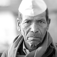 Man at panchavati, i tested tilt shift effect on his face!