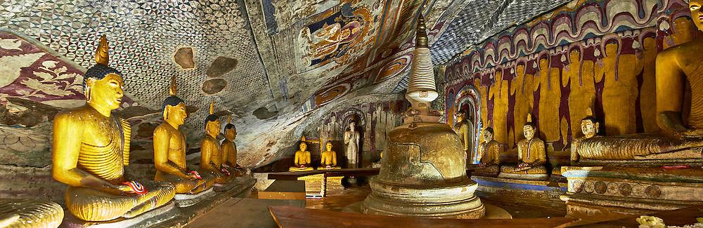 cave temples Dambulla Sri Lanka