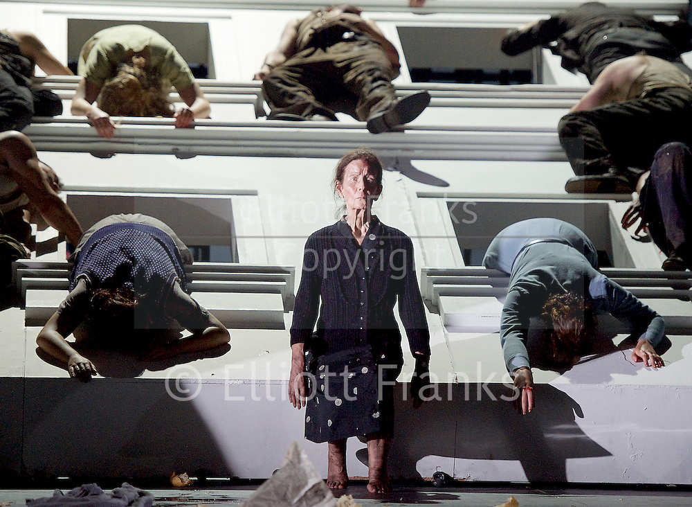 The Force of Destiny <br /> by Verdi <br /> English National Opera and the London Coliseum, London, Great Britain <br /> rehearsal<br /> 6th November 2015 <br /> <br /> <br /> Photograph by Elliott Franks <br /> Image licensed to Elliott Franks Photography Services