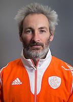 ARNHEM - Assistent RUSSELL GARCIA. Het Nederlands hockeyteam mannen, voor de Champions Trophy in Bhubaneswar (India). COPYRIGHT KOEN SUYK