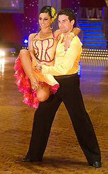 Flavia Cacace and Gethin Jones pose at the Strictly Come Dancing on tour Photo call MEN Arena 21 January 2009 © Paul David Drabble