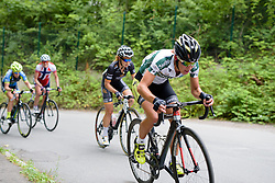 Janneke Ensing (Parkhotel Valkenburg) on the final climb at Thüringen Rundfarht 2016 - Stage 2 a 103km road race starting and finishing in Erfurt, Germany on 16th July 2016.
